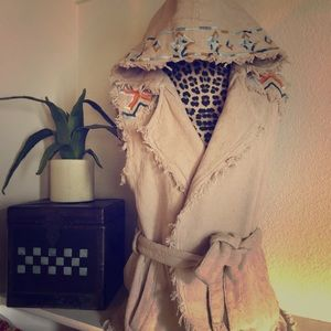 Free People Hooded Vest